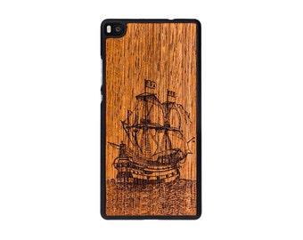 Huawei P8 - Real Wood Case - Galleon