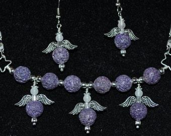 A Choir of Angels in Purple