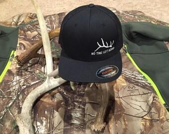 No tine left behind flex fit hat