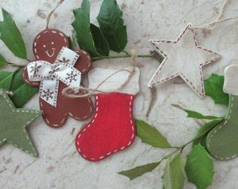 Christmas Ornaments (set 5 pieces)