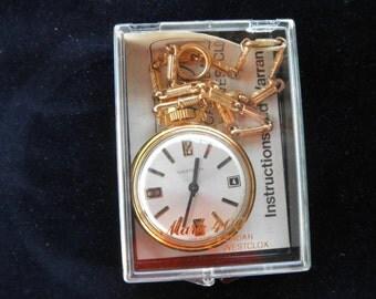 Westclox Pocket Watch Model 400 Calendar Original Package  PocketWatch