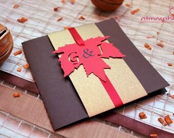 "Theme ""Forests"" - christening, birthday, wedding invitations"
