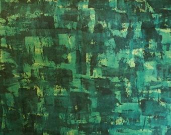 3 Yds Hand Printed/ Dyed Hemp and Organic Cotton Fabric- Upholstery/ Soft Furnishing Meterage/ Yardage