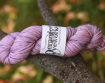 Purple Haze - 100% Superwash Merino Wool Yarn - Worsted Weight