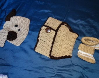 Puppy Diaper Set
