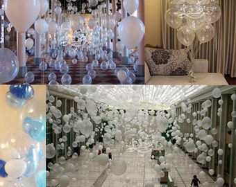 100pcs/lot 2.2g 12 inch Clear Balloons Transparent Ballons Latex Helium Baloon for Wedding Birthday Party Decoration Kids Toy