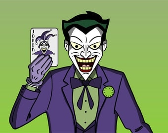 Art Print: DC Collection - The Joker