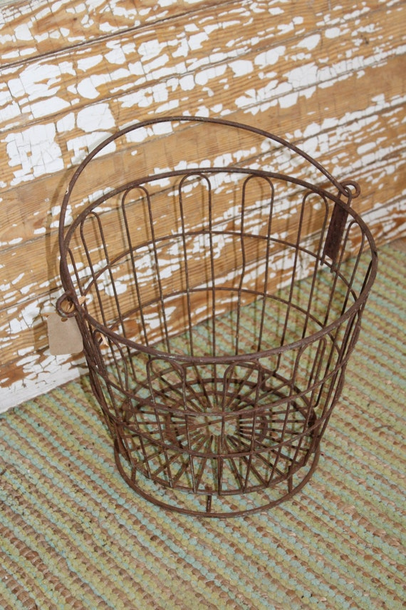 Antique Primitive Basket