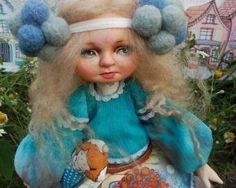 Сloudlet  art doll