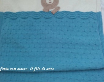 Wool cot cover
