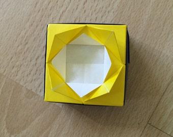 Origami Lotus Box