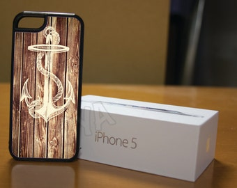 Wood Deck Plank Nautical Case for iPhone 4/4s, 5/5s, 6/6s, 6/6s Plus, SE and Samsung S3 and S4