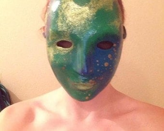 Glitter Galaxy Nebula Mask
