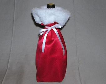 Christmas Wine Gift Tote