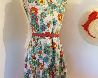 Dress vintage nylon