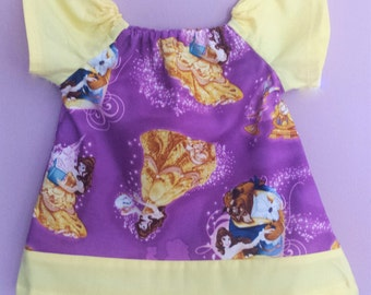 Beauty and the Beast themed Peasant Dress