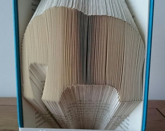 Elephant Bookfolding Pattern