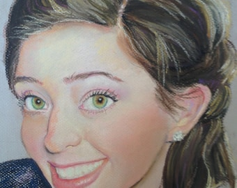 Custom Pastel Portrait