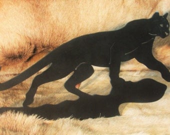 Stalking, Wall Hanging, Mountain Lion, Cougar, Panther, Cat