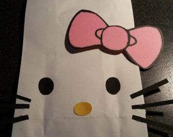 Hello Kitty goody bag (paper