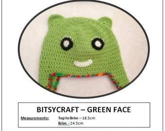 Bitsycraft - Green Face