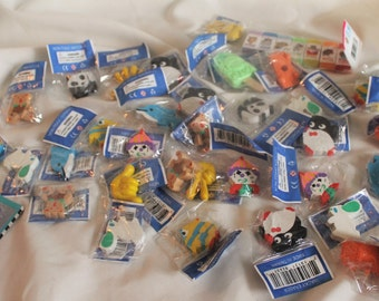 44 Assorted Erasers