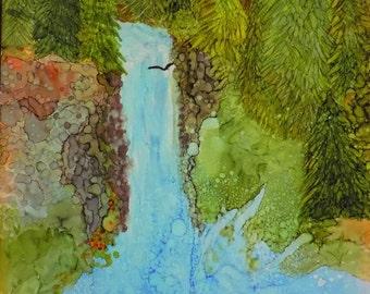 Salt Creek Falls, Ink