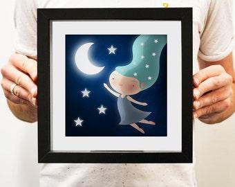Star Child - Illustration Print
