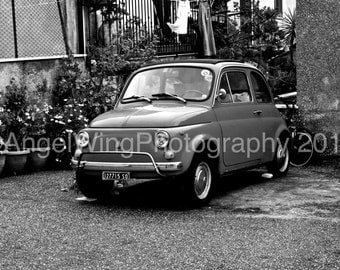 FIAT - Italy - Black and White