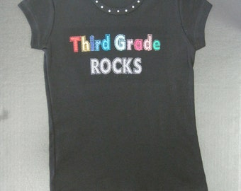 Third Grade Rocks Shirt
