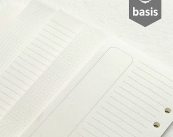 Preorder Planner A5/A6 Basis Refills