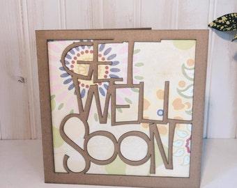 Get Well Soon Greetings Card