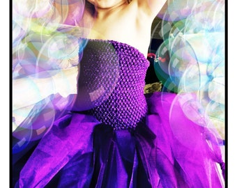 Pixie fairy or witches outfit aged 4-6
