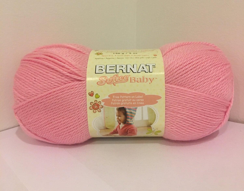 Bernat Softee Baby Yarn Prettiest Pink 5oz 140g