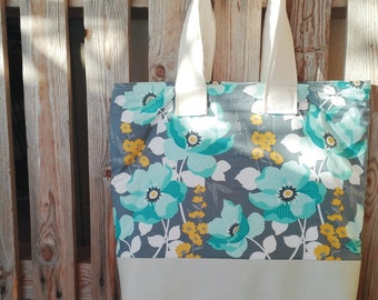 Shoulder bag flower fantasy