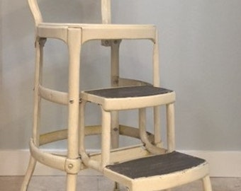 Vintage Cosco Chair Step Stool (Local Pick Up Only)
