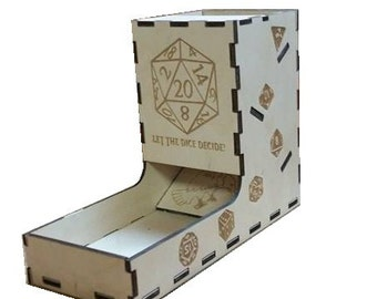 Let 'Em Roll! Dice Tower (With Tray)