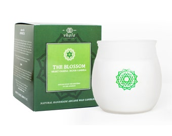 The Blossom | Anahata Chakra Infused Soy Wax Candle
