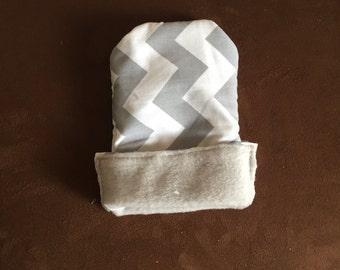 Grey Chevron Snuggle Sack