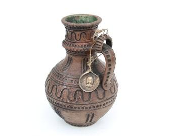 Gmundner Keramik 10-20 vase-Retro Vintage German ceramic