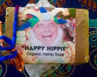 Organic Happy Hippie Hemp Soap