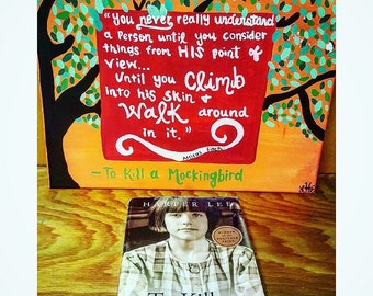 "Shop ""to kill a mockingbird"" in Painting"