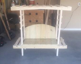 Child's Garden Bench