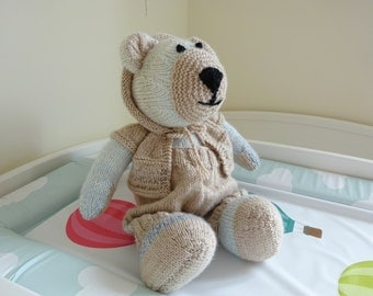 My First Knitted Teddy