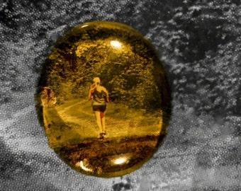 Magnet (woman, running, fitness)