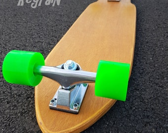 Skateboard hand shaped big cruiser