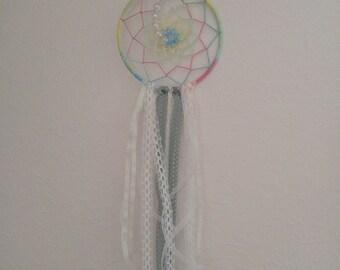 Pastel and lace dreamcatcher