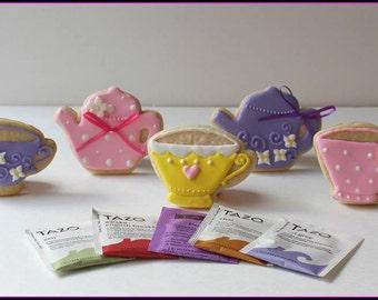 Tea Set Sugar Cookies