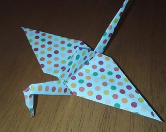 20 Origami Crane Bright Spot Design Wedding Favors Craft