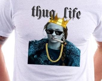 Thug Life Sansa Stark Game of Thrones T-shirt